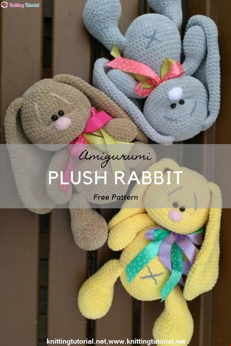 Plush Rabbit Crochet Pattern