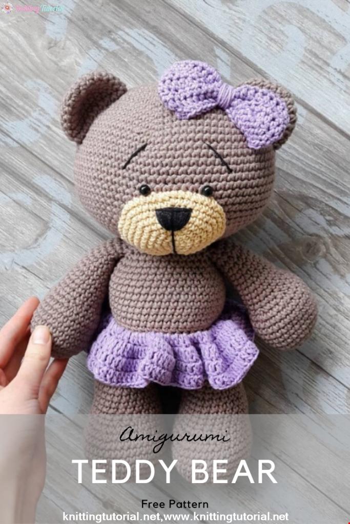 Lovely Teddy Bear Amigurumi Tutorial