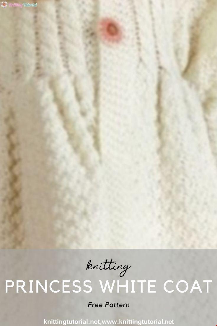 Princess White Coat